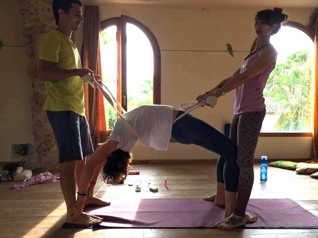 Problèmes de dos yoga